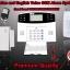 กันขโมยบ้าน GSM จอ LCD ( GSM Wireless Home Bugler Alarm Auto Dialer ) thumbnail 1