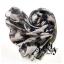 ผ้าพันคอผู้ชาย Man scarf ลายทหาร Camo scarf : สี Gray army thumbnail 4