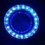สปอตไลท์ มอเตอร์ไซค์ LED #9 12V 10W มีไฟวงแหวน LED สีฟ้า thumbnail 2