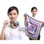 ผ้าพันคอจัตุรัส ผ้าพันคอ uniform รหัส S41 - size 60 x 60 cm thumbnail 1