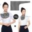 ผ้าพันคอสำเร็จรูป ผ้ายูนิฟอร์ม uniform ผ้าไหมซาติน : L184 thumbnail 1