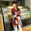 ผ้าพันคอ ผ้าคลุมพัชมีนา Pashmina scarf ลายตาราง size 200x60 cm - สี Red blue thumbnail 4
