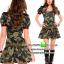 ชุดทหารสาวลายพราง ชุดแฟนซีทหาร ชุดแฟนซีเครื่องแบบ ชุดคอสเพลย์ ชุดแฟนซีสีเขียว thumbnail 1