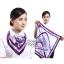 ผ้าพันคอจัตุรัส ผ้าพันคอ uniform รหัส S32 - size 60 x 60 cm thumbnail 1