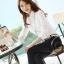 เสื้อเชิ้ตทำงานผู้หญิงแขนยาวแฟชั่นสีขาว thumbnail 8