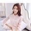 เสื้อทำงานผู้หญิงแขนยาวสีชมพูอ่อน เรียบหรู ใส่สบาย thumbnail 4