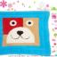พรมเช็ดเท้าแฟนซี-Size L-หมาหน้าเหลี่ยม-ฟ้า thumbnail 1