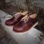 รองเท้าผู้ชาย | รองเท้าแฟชั่นชาย Brown Red Wing Oxford Replica Oiled Pull Up Leather thumbnail 1