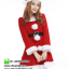 ชุดซานตาครอสสาว ผ้ากำมะหยี่สีแดงขาว ชุดซานตี้ ชุดแฟนซีซานต้า ชุดแฟนซีสีแดง ชุดคอสเพลย์ ชุดซานต้าครอสหญิง thumbnail 2