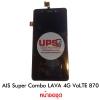 หน้าจอชุด AIS Super Combo LAVA 4G VoLTE 870