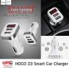 HOCO Z3 Smart Car Charger - ที่ชาร์จในรถสำหรับมือถือและแทปเล็ต HOCO Z3 (LCD+2USB+2.1A)