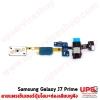 อะไหล่ สายแพรเซ็นเซอร์ปุ่มโฮม+ช่องเสียบหูฟัง Samsung Galaxy J7 Prime