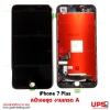 หน้าจอชุด iPhone 7 Plus เกรด A สีดำ.