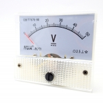 DC Analog Voltmeter 0-50V