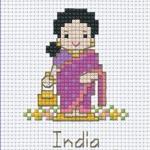 เด็กนานาชาติ - อินเดีย