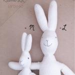 Rabbit Softy Toy -LL - M