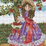 สาวน้อยเก็บแอ๊ปเปิ้ล