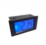 AC Digital Voltmeter 20-500V LCD with Blue Back-light