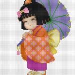 เด็กญี่ปุ่นกางร่ม