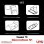 Huawei P9 - ฟิล์มกระจกกันรอย วีซ่า Tempered Glass Protector thumbnail 4