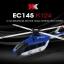 XK-K124 EC145 brushlessมอเตอร์ 3d 6ch เฮลิคอปเตอร์ thumbnail 19
