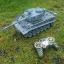 รถถังบังคับ German Tiger Scale 1/18+ควัน+ยิงกระสุน รถถังบังคับ thumbnail 4