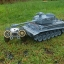รถถังบังคับ German Tiger Scale 1/18+ควัน+ยิงกระสุน รถถังบังคับ thumbnail 7