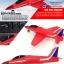 tw-750 Red arrows เครื่องบินไอพ่นพลังสูง thumbnail 11