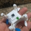 CX-OF mini selfie drone+โหมดบินนิ่งอยู่กับที่+ล็อคความสูง+เซนเซอร์ thumbnail 9