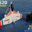XK-X520 FIGHTER -6ch 3D RC Plane/ ฺBrushless moter thumbnail 12