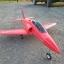 tw-750 Red arrows เครื่องบินไอพ่นพลังสูง thumbnail 3