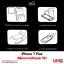 iPhone 7 Plus - ฟิล์มกระจกกันรอย วีซ่า Tempered Glass Protector thumbnail 4