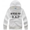 เสื้อกันหนาว B.A.P ขาว