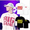 เสื้อยืด BIGBANG สีดำและขาว