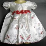 ชุดเจ้าหญิงเด็กเล็กวัยหัดเดินสีขาว ไซส์ 24