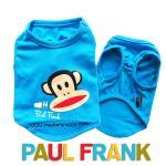 เสื้อกล้ามหมา Paul Frank สีฟ้า ไซส์ 5