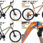 จักรยานเสือภูเขา FAST X.1.1 ล้อ 27.5 ซ่อนสาย