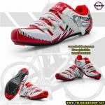 สีขาวแดง size 39