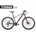 "TRINX : X1Elite 2018 เสือภูเขาอลูฯ ล้อ 27.5"" 27 Speeds โช๊กลม ดุม NOVATEC"