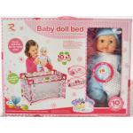 ตุ๊กตาทารก พร้อมเตียง