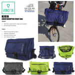 VINCITA : B207A กระเป๋าติดหน้าบรอมตัน
