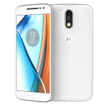 Moto G4 Plus 16GB White
