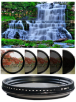 Variable Adjustable Fader ND ND2-ND400 Filter หลายขนาด