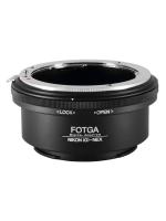 Nikon(G)-NEX Mount Adapter Fotga ปรับรูรับแสงได้ Nikon G AI AIs F(non-AI) AF Lens to Sony Alpha NEX E FE Mount Camera