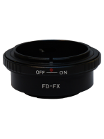 FD-FX Adapter Canon FD FL Lens to Fujifilm X Mount Camera