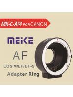 EOS-EOSM Meike MK-C-AF4 Auto Focus Mount Adapter Canon EOS EF EF-S Lens to Canon EOS M EF-M Mount Camera