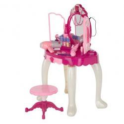 Sale!!! โต๊ะเครื่องแป้งเจ้าหญิง มีคฑาเสกกระจกเปิดปิด มีไฟ เปิดเพลงได้