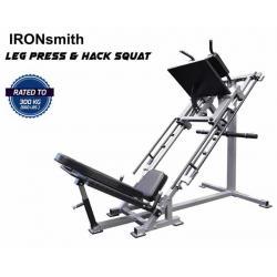 เครื่อง Leg Press + Hag Squat 2 in 1
