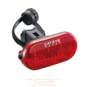 CAT EYE ไฟท้ายกระพริบแคทอาย OMNI 5, TL-LD155-R, สีแดง