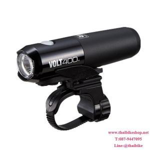 CATEYE ไฟหน้า VOLT400, HL-EL461RC, สีดำ